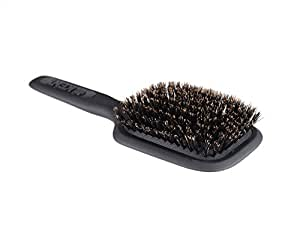 Kent Pure Bristle Medium Size Paddle Brush , Black