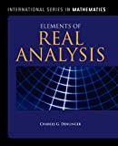 img - for Elements Of Real Analysis (International Series in Mathematics) book / textbook / text book
