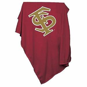 Florida State Seminoles NCAA Sweatshirt Blanket Throw by Florida State Seminoles NCAA Sweatshirt Blanket Throw