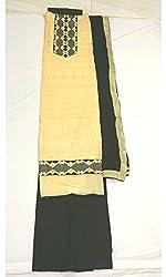BEAUVILLE VAIIBAVAM Women's Unstiched Salwar Material (BVPCUC_73_Multi_Free Size)