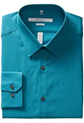 Perry Ellis Men's Portfolio Solid Dress Shirt