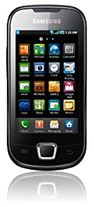 Samsung Galaxy 3 i5800 Smartphone (Touchscreen, 3 Megapixel Kamera, Android 2.1) deep-black