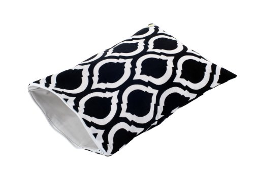 Itzy Ritzy Travel Happens Wet Sealed Wet Bag, Moroccan Nights, Medium