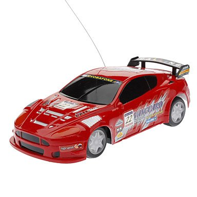 Zcl 3211 40Mhz Remote Control Racing Car(Red,Blue) , Red