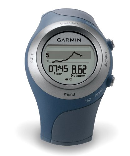 Garmin Forerunner 405CX GPS Sport Watch with Heart Rate Monitor (Blue)