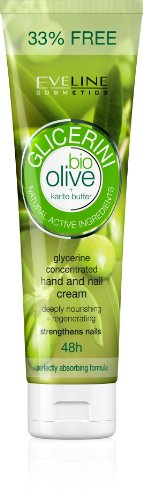 GLYCERINE HAND AND NAIL CREAM BIO OLIVE + KARITE BUTTER