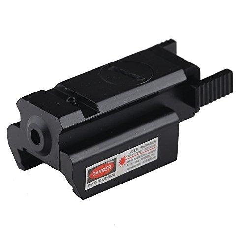 Hunter Optics Jg-10 Compact Pistol Rail Red Laser Sight 20mm Picatinny- Weaver Rail Us Seller