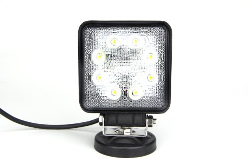 """Lite Wheels 24W 4"""" Square Led Working Light For Heavy Duty"""