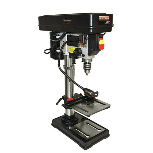 Why Should You Buy Craftsman 10 in Bench Drill Press w/ Laser Trac
