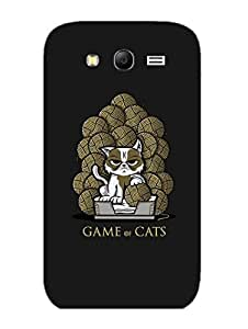 Samsung Grand 3 Back Cover - Game Of Cats - Designer Printed Hard Shell Case