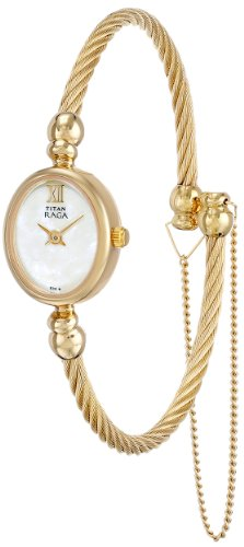 Titan Women's 197YM03 Raga Inspired Gold Tone Watch
