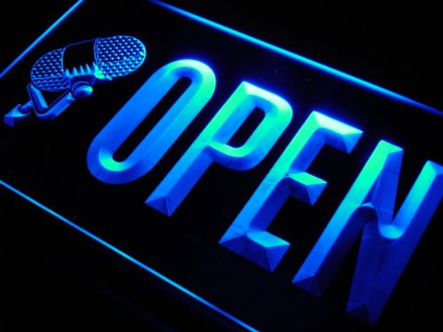 Adv Pro J776-B Open Studio On The Air Microphone New Light Sign