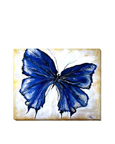 Susan Art Butterfly 3 Weather-Resistant Canvas Print