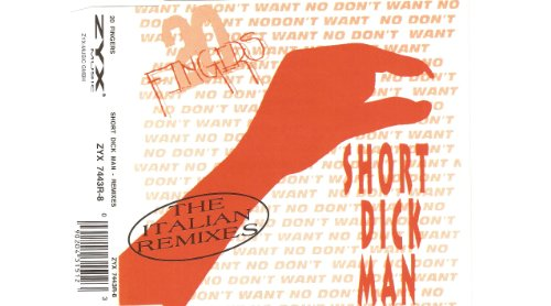 Short Dick Man [CD-Single, DE, ZYX 7443R-8]