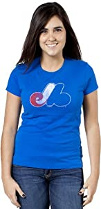 Forty Seven Brand Ladies Vintage Montreal Expos Shirt by Forty Seven Brand