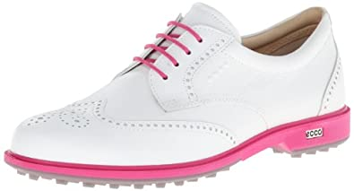 ECCO Ladies Tour Hybrid Wing Tip Golf Shoe by ECCO
