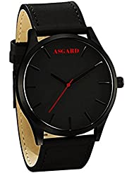 Asgard Analog Black Dial Watch For Men-BM-89