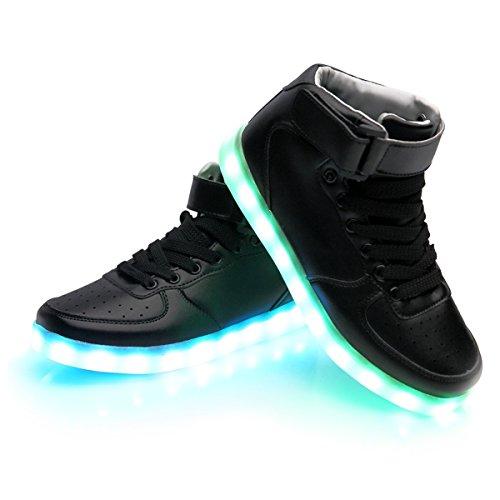 super nova unisex women men usb charging led shoes flashing sneakers. Black Bedroom Furniture Sets. Home Design Ideas