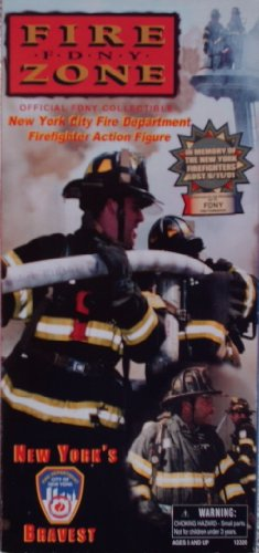 Buy Low Price Real Heroes 1/6 Scale Official 9-11 FDNY New York City Fire Department Firefighter 12″ Action Figure (B003E6QRB8)