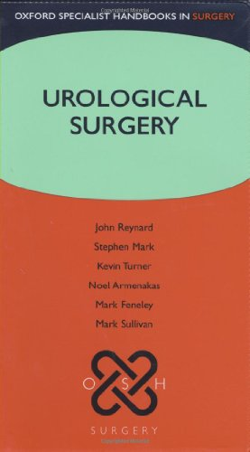 Urological Surgery (Oxford Specialist Handbooks In Surgery)