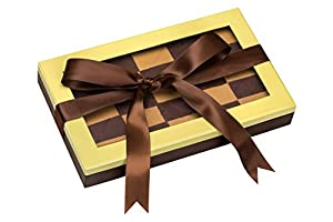 Call Me Nuts- Kosher Chocolate Checkerboard Fresh Roasted Peanut Chews Pistachio Gift Tray, Box Platter Perfect for Thanksgiving , Christmas, Chanukah and Everyday Snacks