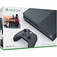 Microsoft Xbox One S Battlefield 1 500GB Special Edition Bundle (Storm Grey) + $30 Gift Card + Microsoft Xbox One Wireless Controller