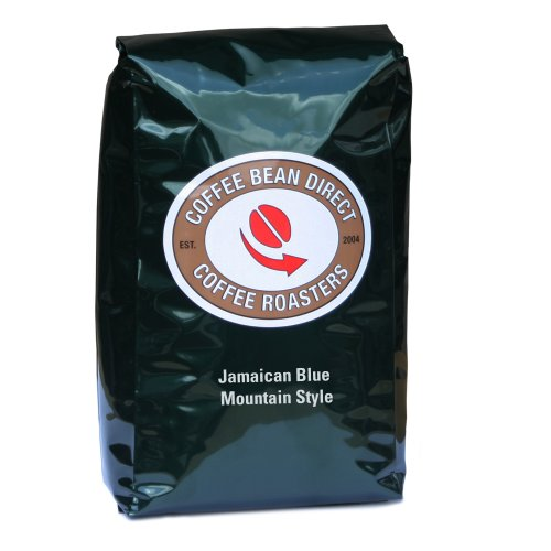 Coffee Bean Direct Green Jamaican Blue Mountain Style, Whole Bean Coffee, 5-Pound Bag