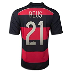 Buy #21 REUS Germany Away 2014 World Cup Kid Soccer Jersey & Matching Short Set by WSM