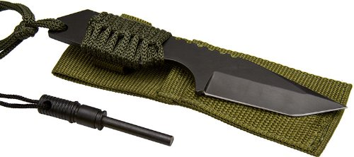 SE KHK6320 7-Inch Hunting Knife with Fire Starter