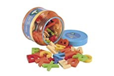 ELC MAGNETIC LETTERS UPPER CASE TUB OF FUN MAGNETS FOR FRIDGE AGES 3-6 YRS