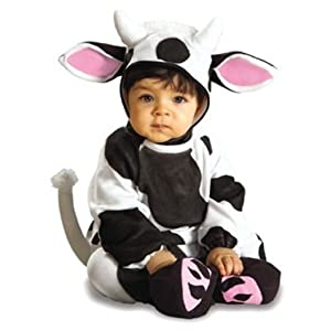 Moo Cow image holiday outfit for toddlers