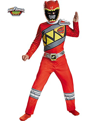 Red Ranger Dino Charge Classic Costume for Kids