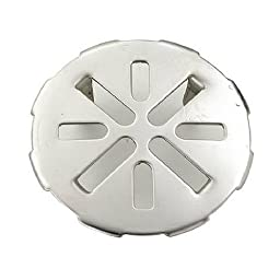 Master Plumber 828-845 MP Stainless Steel Drain Cover, 3-Inch