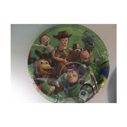 Toy Story 3 Lunch Party Plates 8 Count