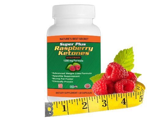 Raspberry Ketones Super Plus Max Weight Loss Supplement And Appetite Suppressant 1200mg Formula Red Raspberry Ketone