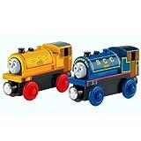 Thomas y sus Amigos - Bill & Ben Locomotora - Ferrocarril de Madera - Mattel Thomas & Friends