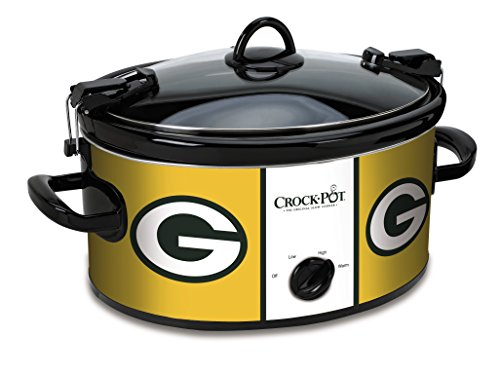 Crock-Pot Green Bay Packers NFL Cook & Carry Slow Cooker (Green Bay Packer Crock Pot compare prices)