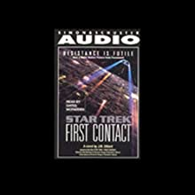 Star Trek: The Next Generation: First Contact (Adapted)  by J.M. Dillard Narrated by Gates McFadden