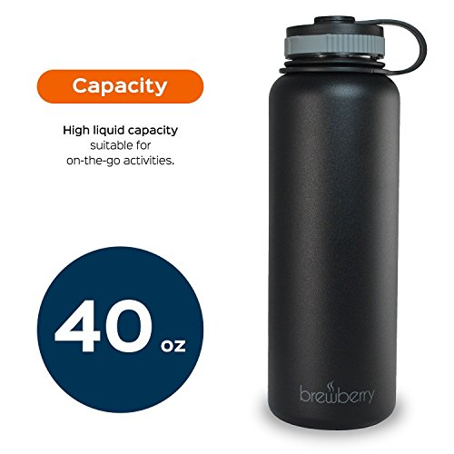 Brewberry Insulated Stainless Bottle Beverages