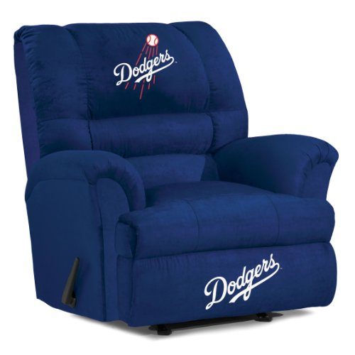 MLB Los Angeles Dodgers Big Daddy Microfiber Recliner - 1