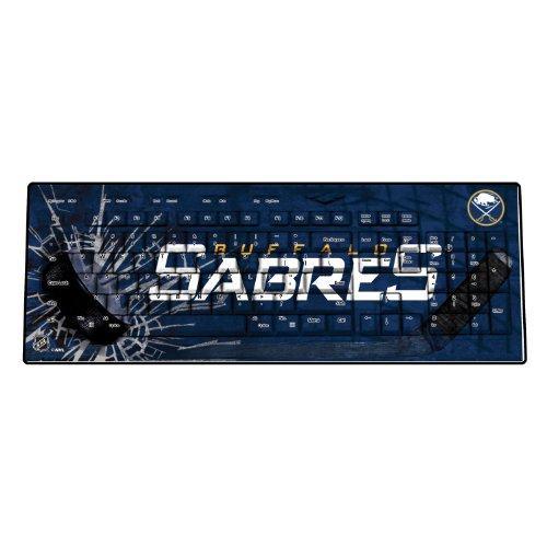[wireless keyboards],NHL Buffalo Sabres Keyscaper Wireless USB Keyboard