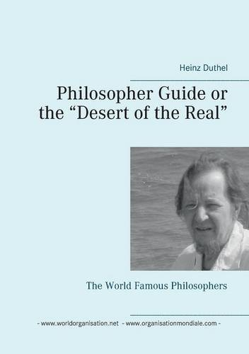 """Buchcover: Philosopher Guide or the """"Desert of the Real"""""""