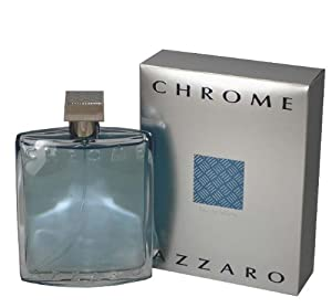 Chrome Azzaro for Men by Azzaro, Eau De Toilette Spray 6.8 Ounces