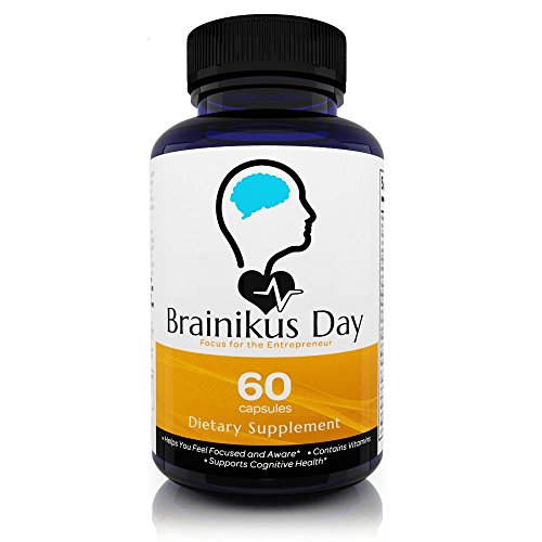 Brainikus-Day-All-Natural-Brain-Supplement-Increase-Focus-and-one-of-the-strongest-Neurtropics-Boost-Memory-Support-Brain-Health-DMAE-StJohns-Wort-B-Complex-Energy-Complex-Focus-Enhancer