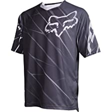 Fox Men's 360 Short Sleeve Jersey Black Medium