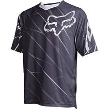 Fox Men's 360 Short Sleeve Jersey Black Large