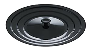 Mirro 12173W5 Multi-Purpose Universal Cover for 8, 10 and 12-Inch Pans Cookware, Black