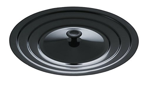 Mirro 12173W5 Multi-Purpose Universal Cover for 8, 10 and 12-Inch Pans Cookware, Black (Lids For Frying Pans compare prices)