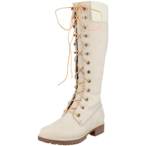 Timberland Women's Premium FTB 23685, Women's Boots - Cream, 41.5 EU