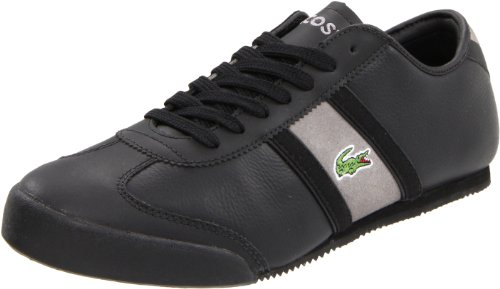 Lacoste Men's Tourelle WS Sneaker,Black/Grey,11 M US